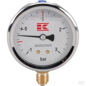 Manometr beczkowozu -1 do +3 bar