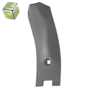 Ścinacz listwowy ( osłona grządzieli) agregatu podorywkowego Inter-Tech
