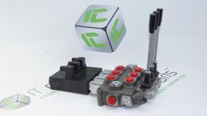Rozdzielacz 3-sekcyjny Q75 12V DC Galtech