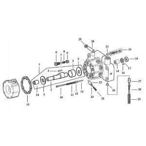Sprzęgło gumowe pompy John Deere R78202
